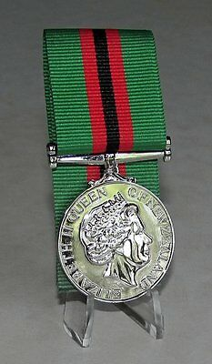 New Zealand - General Service Medal Afghanistan Secondary 2002 Full Size Replica