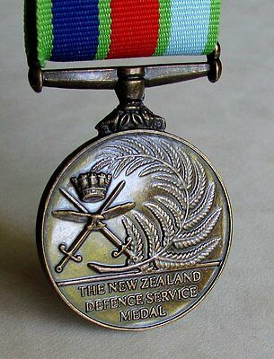 New Zealand Defence Medal Full Size Replica Medal