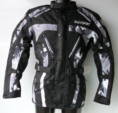 New Wulfsport Enduro Motorcycle Jacket (All Sizes) Wulf Coat Road Ktm Bmw Drz Xt