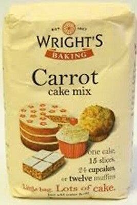 Wright's Carrot Cake Mix (2x500g)
