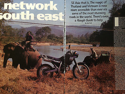Honda Ax-1 250 # Across S.e.asia Report # Motorcycle Article # 6 Pages