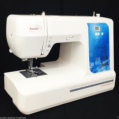 Sewing Machine New Austin AS7000 Jack Computerised LED Auto Needle Threader