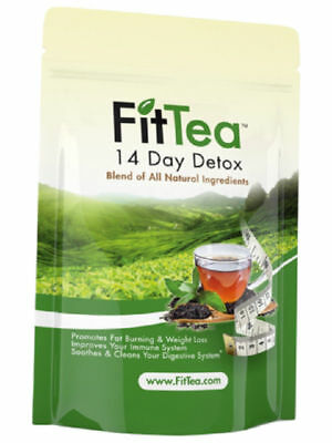FIT TEA 14 Day Detox - All Natural - NO GMO - Fast Shipping - 3days Sale