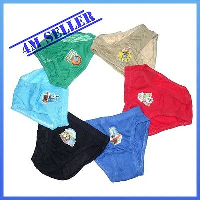 6 PCS Pairs Kids Boys Trunks Underwear Undies Panties Briefs Sz Thomas & Friends