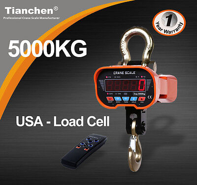 5-Ton/5000kg  Industrial  Electronic Crane  Scales
