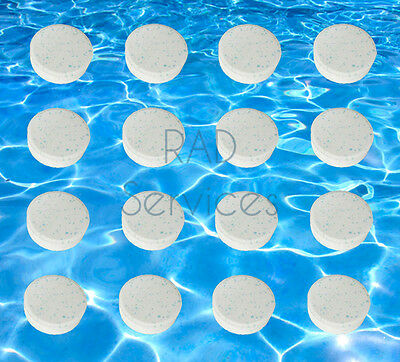 Multifunction  CHLORINE TABLETS 5 IN 1 SWIMMING POOL HOT TUB SPA 20 gram