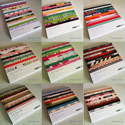 2016 - 2019 Discounted KAISERCRAFT paper pads 6.5 * 6.5 inch 20 options