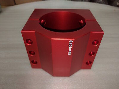 High Quality Spindle Mount 80MM Solid - Red Anodized!