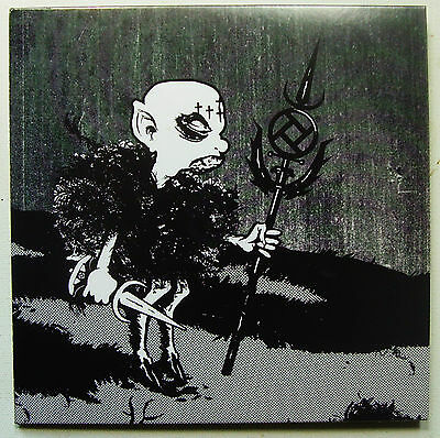 """Integrity / Rot In Hell - Black Heksen Rise - 2011 TDON 2 x 7"""" Blue/Green (EX/M)"""