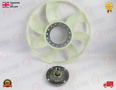 Ford Transit Viscous Fan Coupling Clutch With Blade 2000-2006 Mk6