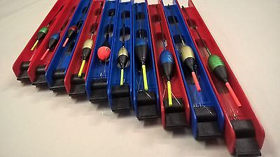 NEW 10 x POLE FLOAT RIGS Assorted Carp/Coarse Fishing  Ready Tied.Barbless Hook