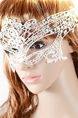 Maschera carnevale teatro ricamata pizzo Hollow-out Lace Dancing Ball Party Mask