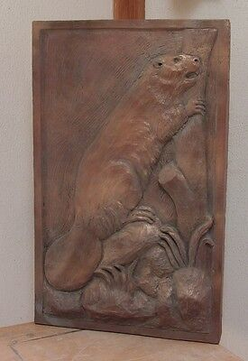NYC subway Astor Place beaver plaque Nº S1 Urbansculptures