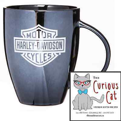 Harley Davidson Black Ceramic Mug  in Canada 250-897-0107