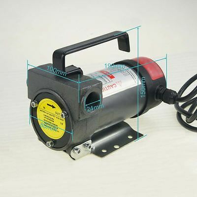 482118 Tank Tractor Farming Electric Diesel Transfer Pump 12V 200W
