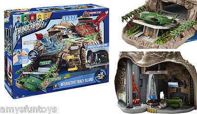New official Thunderbirds Are Go Interactive Tracy Island Playset