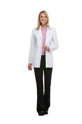 Lab Coat Dickies Women's Fashion Style 84405 White All Sizes / Free Shipping!!!
