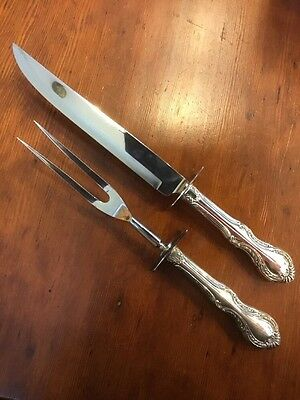 Southern Colonial By International Sterling Roast Carving Set 2Pc