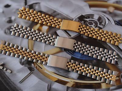 Replacement German Brand Jubelee Solid Bracelet / Strap / Band  20Mm Fit Rolex