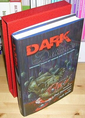 DARK DELICACIES Signed Limited, Clive Barker, Ray Bradbury, Richard Matheson +++