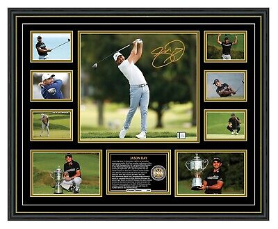 Jason Day Signed Limited Edition Framed Memorabilia