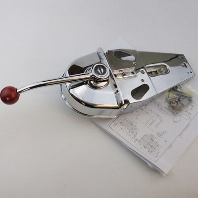 Low Price Universal Top Mount Marine Boat Single Lever Handle Engine Control Box