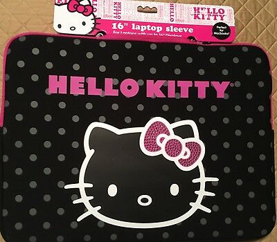 """Hello Kitty Laptop Notebook Sleeve Bag Pouch 16"""""""