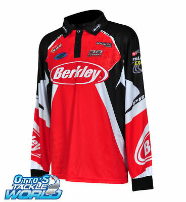 Berkley Tournament Pro Fishing Shirt Various Sizes Available BRAND NEW at Otto's