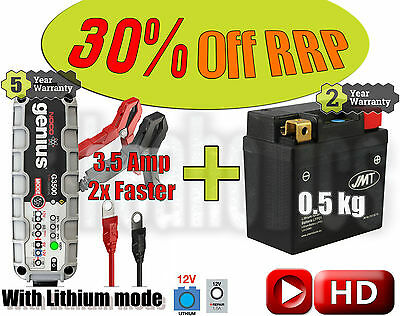 Lithium Battery +3.5Amp charger - replacement for Samsung C22S in KTM Husqvarna
