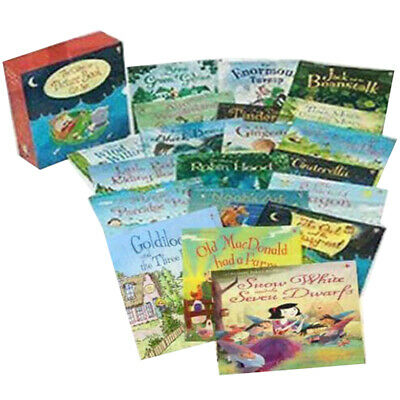 Picture Book Collection Gift Box 20 Books Set(Usborne)Black Beauty New Paperback