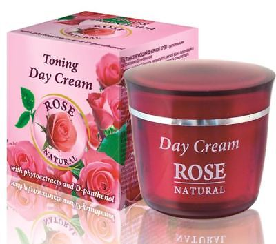 "Bulfresh"" Rose Natural"" Toning Day Cream with Rose Oil - 50 ml."
