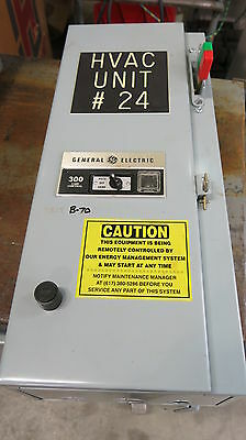 GE 300 Size 1, Fused Combo Mag Starter- USED