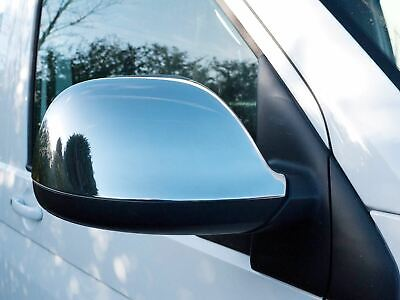 Chrome Mirror Covers Door Wing Trim Stainless Steel Set for Audi Q7 (06-09)