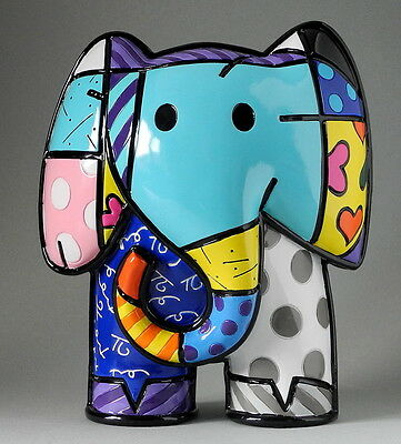 "ROMERO BRITTO - POP ART KUNST aus Miami - ""INDIA"" - limitierte Edition NEUHEIT !"