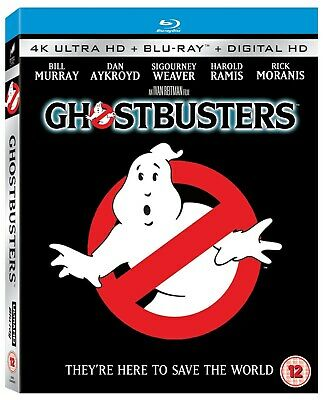 Ghostbusters (4K Ultra HD + Blu-ray + Digital HD) [UHD]