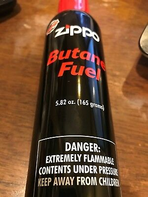 Zippo  Butane Fuel 5.82 oz. 165 Grams Best Butane Fuel Made