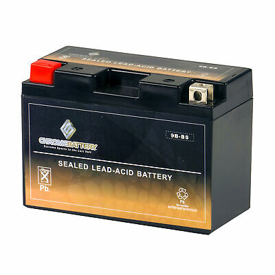 YT9B-BS High Performance - Maintenance Free - Sealed AGM Motorcycle Battery