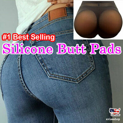 Silicone Buttocks Pads Underwear Hip up Big Boost Girdle Intimate Padded Panty