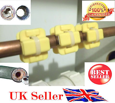 BEST QUALITY Magnetic Water Conditioner Limescale Remover - 3 PAIRS