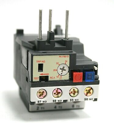 Overload Relay Rhn10A Thermal Motor Protection 17-24A