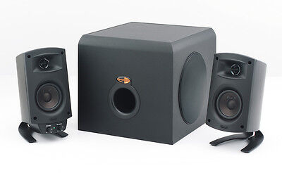 Klipsch ProMedia 2.1 Computer Speakers w/Subwoofer. Brand New. Authorized. SAVE!
