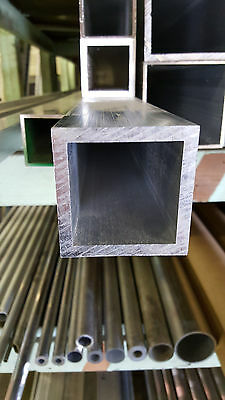 "2 1/2"" Aluminum Square Tube .250"" wall x 12"""