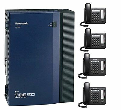 Panasonic KX-TDA50G and (4) DT-521 in Black