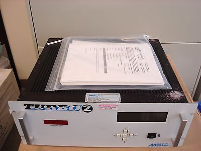 Meeco Turbo 2 Trace Moisture Analyzer, Working Condition W/ Manual & Cord