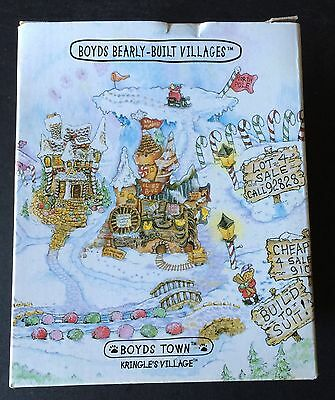 Boyds Bearly Built Villages Kringle's Village KRINGLE'S CONFECTIONARY DELIGHTS