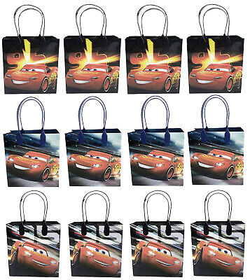 Disney Cars Lighting McQueen Birthday Party Favors Goodie Bag 12pc Gift Set Bags