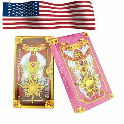 (Ship from USA) NEW Two Sets 52+54 Hope Cosplay Card Captor Sakura Clow Cards