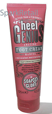 Soap and Glory HEEL GENIUS Amazing Foot Cream (Better Than a Pedicure!) 125ml