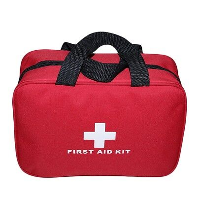 Outdoor Sports Camping Home Medical Emergency Survival First Aid Kit Bag NEW IB