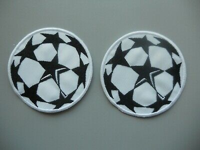 Patch Champions League Ricamata Termoadesiva Diam.7,5